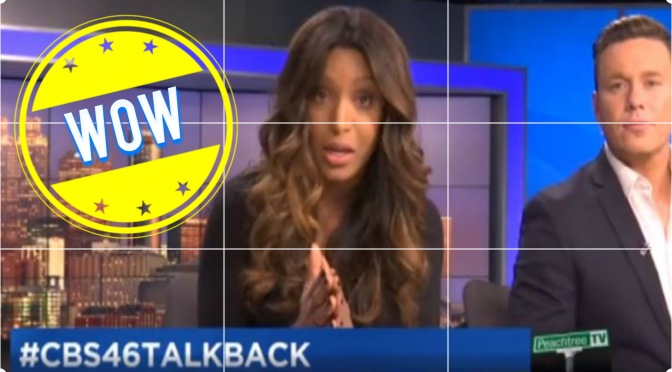 Viewer calls news anchor Sharon Reed the N word and she responds live!