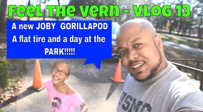BROKEN TRIPOD, NEW TRIPOD, NEW TIRE AND A DAY AT THE PARK – Vlog 13